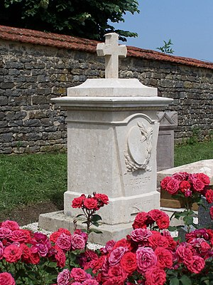 Jules-Claude Ziegler - Tomb of Jules-Claude Ziegler, in the cemetery of Soyers