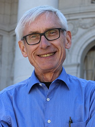 Governor of Wisconsin - Image: Tony Evers (cropped)