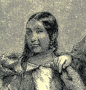 Tookoolito - Tookoolito, from an 1862 engraving