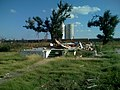 Tornado damage house foundation greensburg kansas 2007.jpg