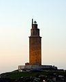 Torre de Hércules anocheciendo (1).JPG