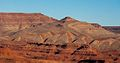 Tortured landscape near Mexican Hat, Utah (8227806199).jpg
