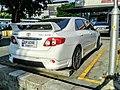 Toyota Corolla Altis (E140) 1.6 TRD Sportivo Series-I Rear 02.jpg