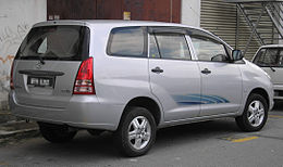 Toyota Innova (first generation) (rear), Kajang.jpg