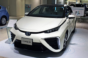 Fuel cell vehicle - 2015 Toyota Mirai