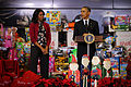 Toys for Tots, President Obama visits Joint Base Anacostia-Bolling 141210-M-LX723-001.jpg