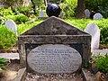 Trafalgar Cemetery gravestone 5.JPG