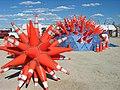 TrafficConeArt 2 from Burning Man - Flickr - paperdog2005.jpg