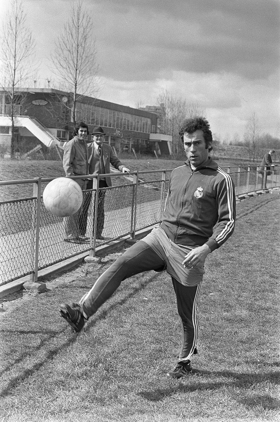 Training Real Madrid in Amsterdam, Amancio, Bestanddeelnr 926-3299
