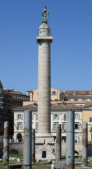 Trajan's Column - Image: Trajan column (Rome) September 2015 1