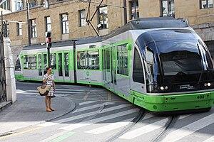 Urbos - Urbos 1 tram in Bilbao