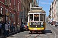 Tram 28 in Alfama (Lissabon 2016) (26029557541).jpg