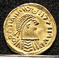 Tremisse barbarizzato con pseudolegenda, italia centro-meridionale, 600-650 ca. 01.jpg