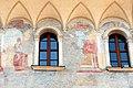 Trento, palazzo geremia, con affreschi di scuola veronese o vicentina del 1490-1510 ca. 06.jpg
