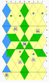 Trishogi moves - bishop, lance, knight, pawn.PNG