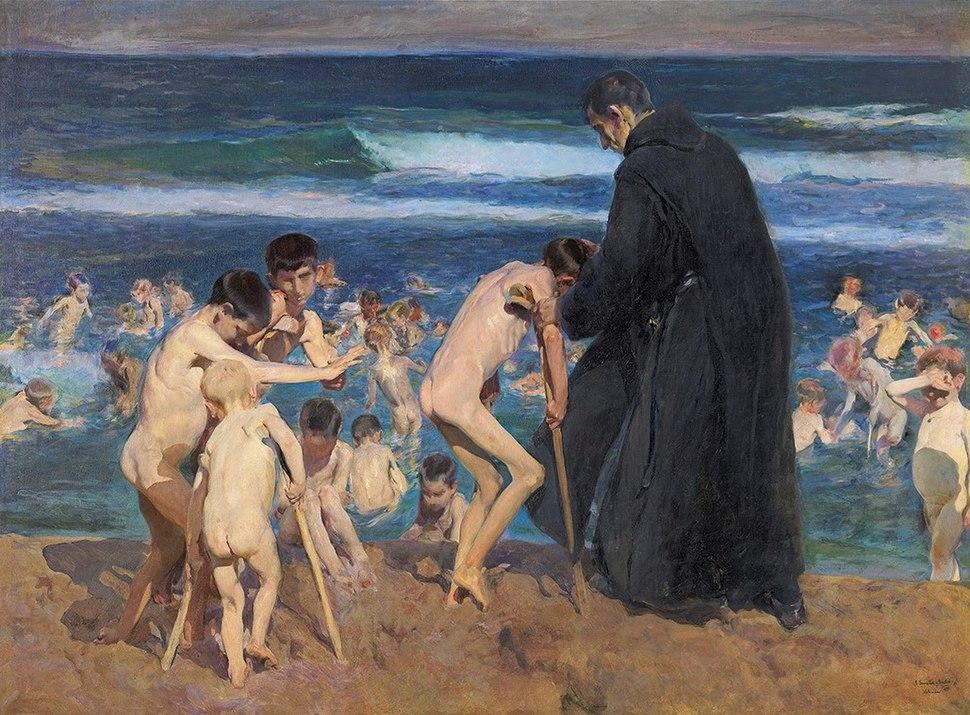 Triste herencia, por Joaquín Sorolla