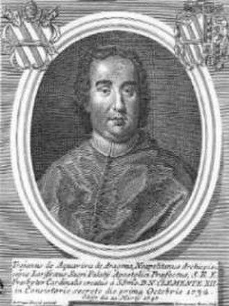Latin Archbishopric of Larissa - Troiano Acquaviva d'Aragona.