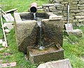 Trough at Sun Royd, Royd Edge, Meltham - geograph.org.uk - 855202.jpg