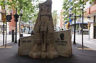 Josep Trueta - Monument to Trueta in Barcelona