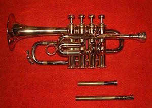 Piccolo trumpet - Image: Trumpet piccolo