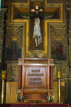 Saints of the Cristero War - Tomb of San Pedro de Jesus Maldonado