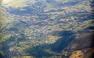 Tumbarumba - Image: Tumbarumba aerial