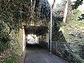 Tunnel under West Kyushu Line on west side of Tabira-Hiradoguchi Station 1.jpg