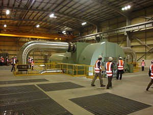 Kawerau Power Station - Image: Turbine Hall Kawerau New Zealand