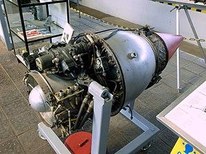 Turbomeca Marboré - Marboré II on display at the Museum für Luftfahrt und Technik