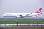 Turkish Airlines Airbus A340-313(X) (TC-JIH-270) (24482502029).jpg