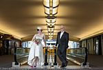 Two Delta fans tie the knot (32636217426).jpg