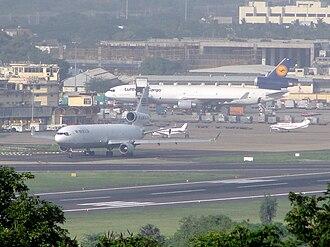 World Airways - World Airways McDonnell Douglas MD-11F parked at Chennai International Airport