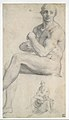 Two Studies of a Seated Male Nude MET DT2885.jpg