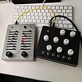 Two electronic musical instruments previously ordered are arrived, so enjoyed these (2018-11-17 by Kazuhisa OTSUBO).jpg