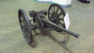 Type 94 37 mm anti-tank gun - A Type 94 gun in the Military-historical Museum of Artillery, Engineer and Signal Corps