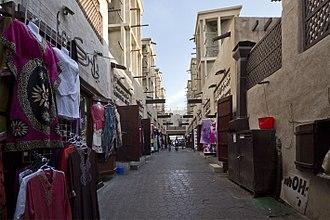 Dubai - Typical Bastakiya street in Deira