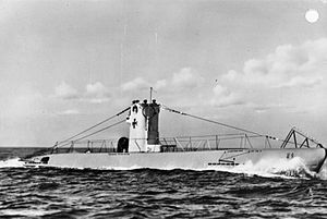Coastal submarine - German Type II submarine U-9