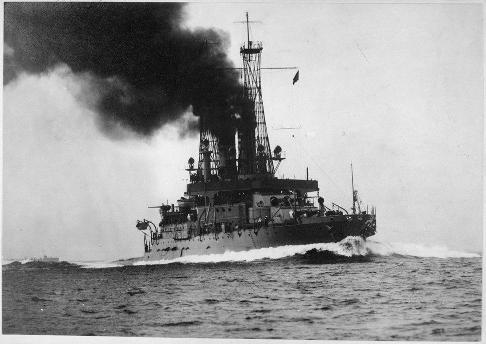 U.S.S. Michigan, circa 1918, 1917 - 1919 - NARA - 533702