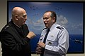 U.S. Army Gen. Ray Odierno, left, the chief of staff of the Army, speaks with Air Force Gen. Philip Breedlove, the commander of U.S. European Command and the NATO Supreme Allied Commander Europe, during a senior 130614-D-BW835-037.jpg
