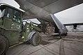 U.S. Marines with Marine Aerial Refueler Transport Squadron (VMGR) 152 load pallets onto a KC-130J Super Hercules aircraft at Marine Corps Air Station Futenma in Okinawa, Japan, Nov. 12, 2013 131112-M-MP631-026.jpg