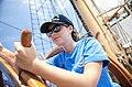 U.S. Naval Sea Cadet Corps Chief Libby Luedecke, 17, of Goochland, Va.jpg