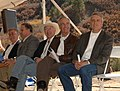 U.S. Senator Ken Salazar, at left, joined Secretary Kempthorne on Oct. 16, 2008, near Durango, Colorado at an event celebrating the Animas-La Plata water project.jpg