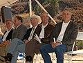 U.S. Senator Ken Salazar, at left, joined Secretary Kempthorne on Oct. 16, 2008, near Durango, Colorado at an event celebrating the Animas-La Plata water project.jpg
