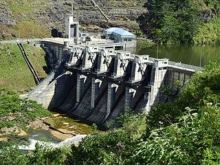 Upper Kotmale Dam Dam in Talawakele, Nuwara Eliya