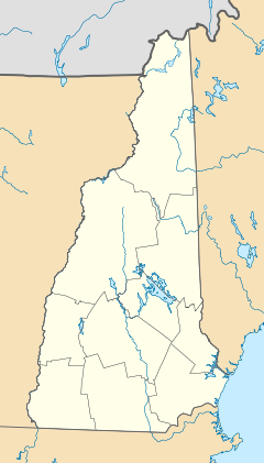 Tilton is located in New Hampshire