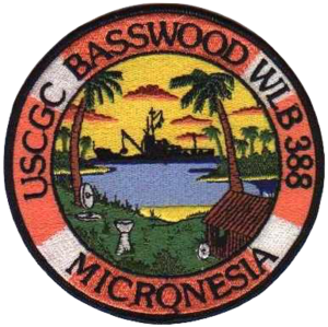 USCGC Basswood (WLB-388) - Image: USCGC Basswood Badge