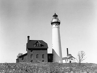 Outer Island Light - USCG archive photo