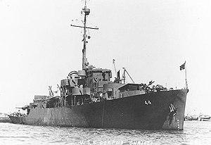 USS Corpus Christi (PF-44) - Image: USS Corpus Christi PF 44 01
