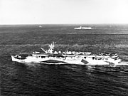 USS Cowpens (CVL-25) at sea on 31 August 1944