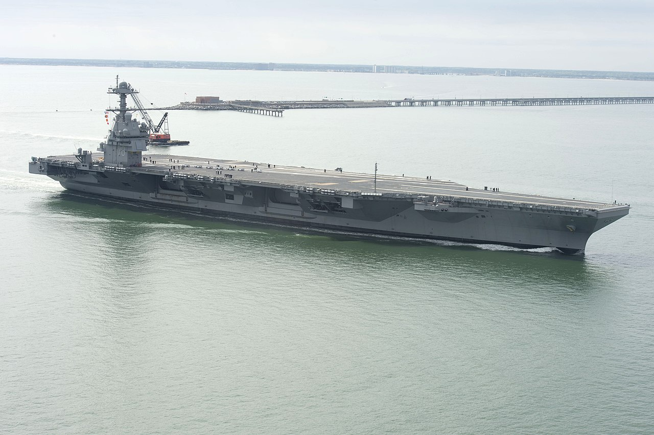 Gerald R  Ford-class aircraft carrier - Wikiwand